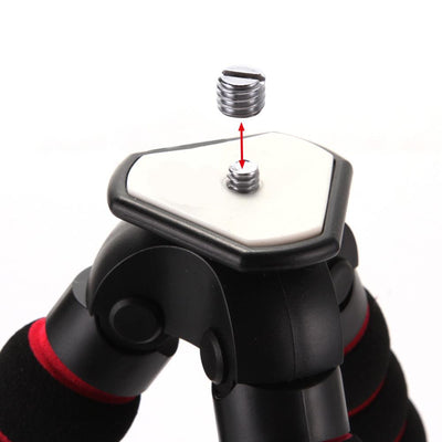 Octopus Style Flexible Tripod Stand For DSLR Cameras - Use Your Camera Anywhere