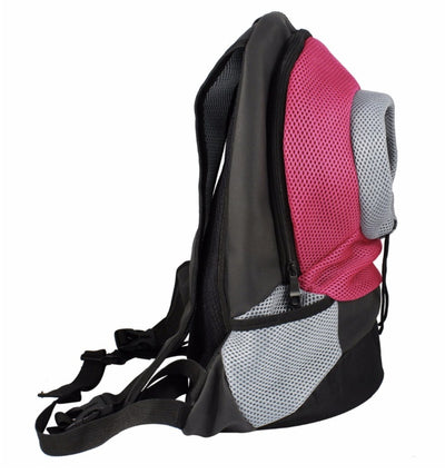 Portable Mesh Travel Pet Carrier Backpack