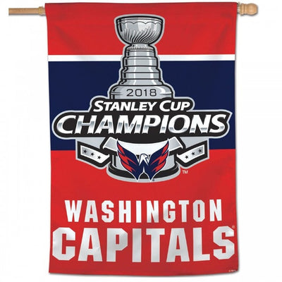 Washington Capitals 2018 Stanley Cup Champions Flag 3 ' x 5 '