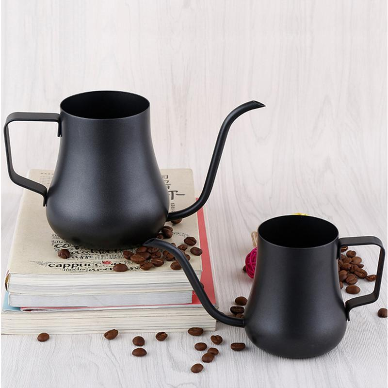 Stainless Steel Gooseneck Teflon Drip Kettle - 2 Sizes