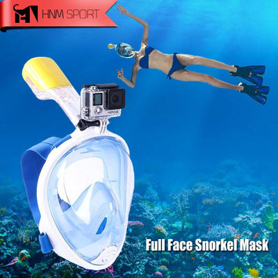 Summer - Full Face Diving Mask With GoPro Attachment