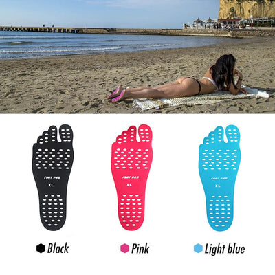 Summer - Naked Foot Fit 3 Pack – Sticker Shoes