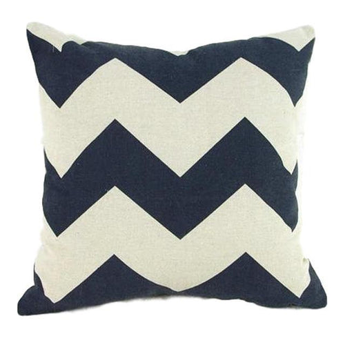 Thick Zig Zag Pillow Case