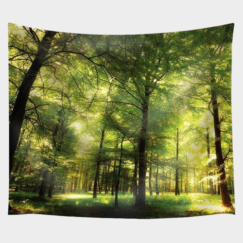 Flourescent Forest Tapestry