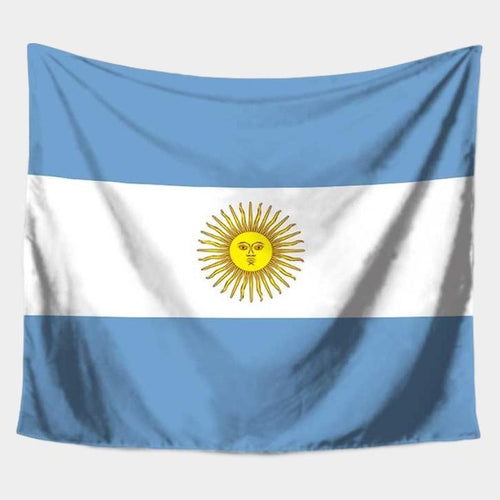 Argentina Flag Tapestry