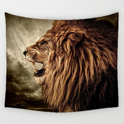 Roaring Lion Tapestry