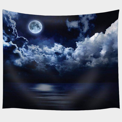 Midnight Moon Tapestry
