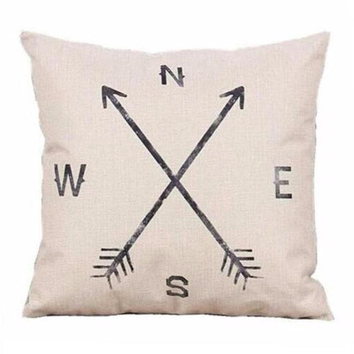 NSEW Pillow Case