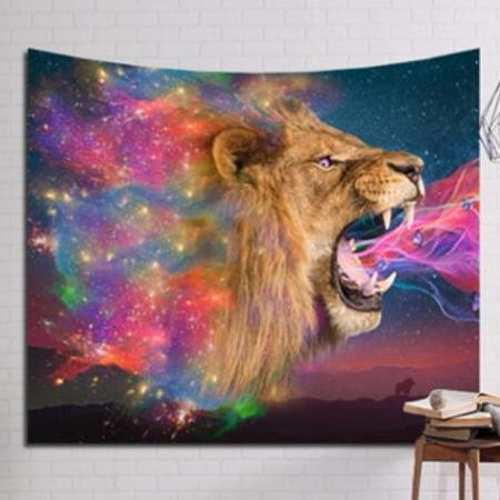 Mystical Lion Tapestry