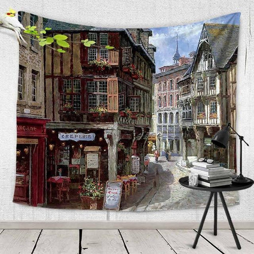 French Street Tapestry