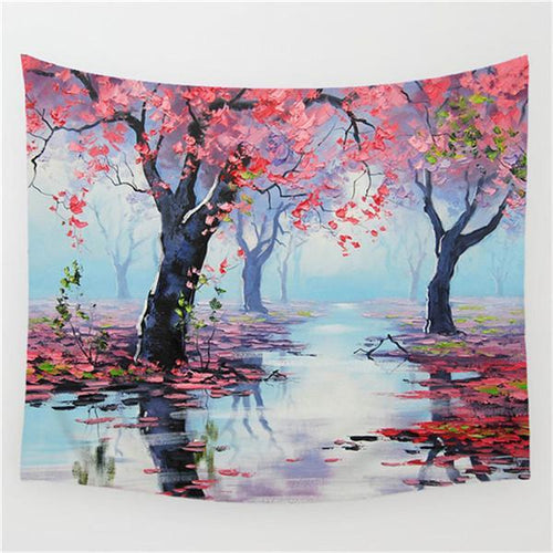 Beatiful Forest Tapestry