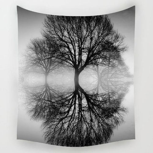 Forest Reflection Tapestry