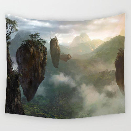 Floating Islands Tapestry