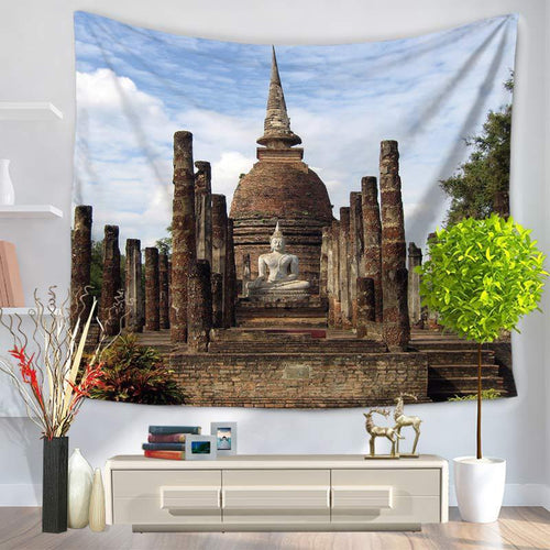 Buddhist Temple Tapestry