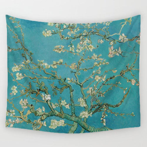 Green Branches Tapestry
