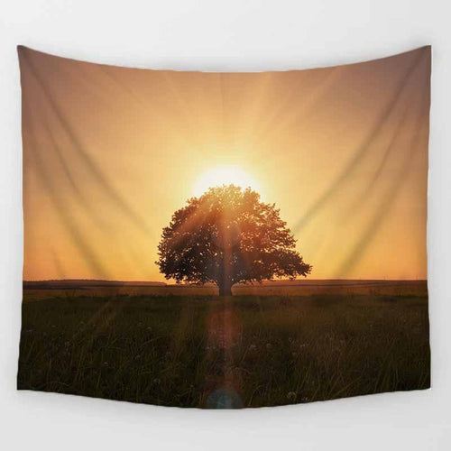 Sunrise Tree Tapestry