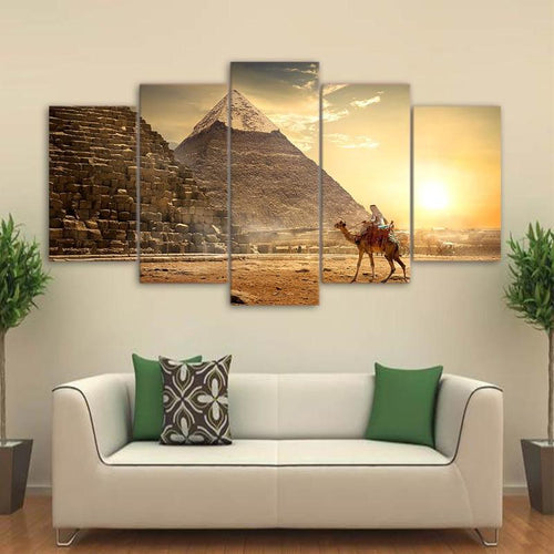 Great Pyramids Canvas