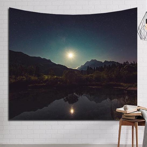 Sunrise Mountainview Tapestry