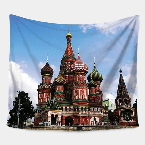 Saint Basil's Cathedral Tapestry