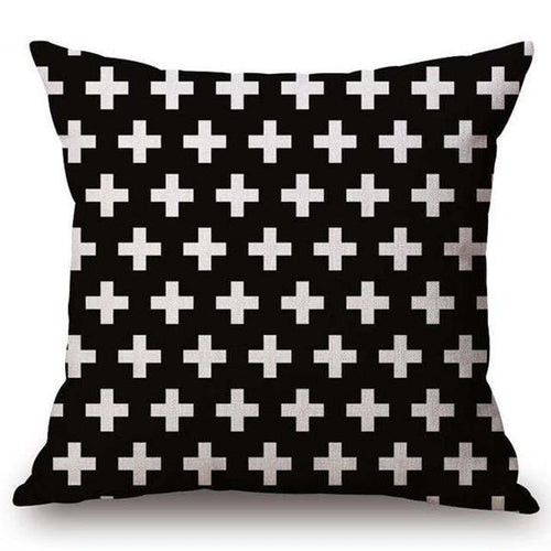 Thick Cross Pillow Case