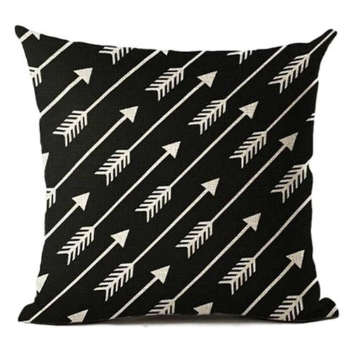 Flying Arrows Pillow Case