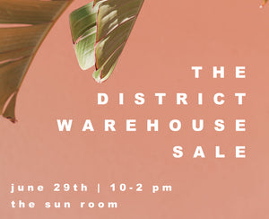 The District Warehouse Sale