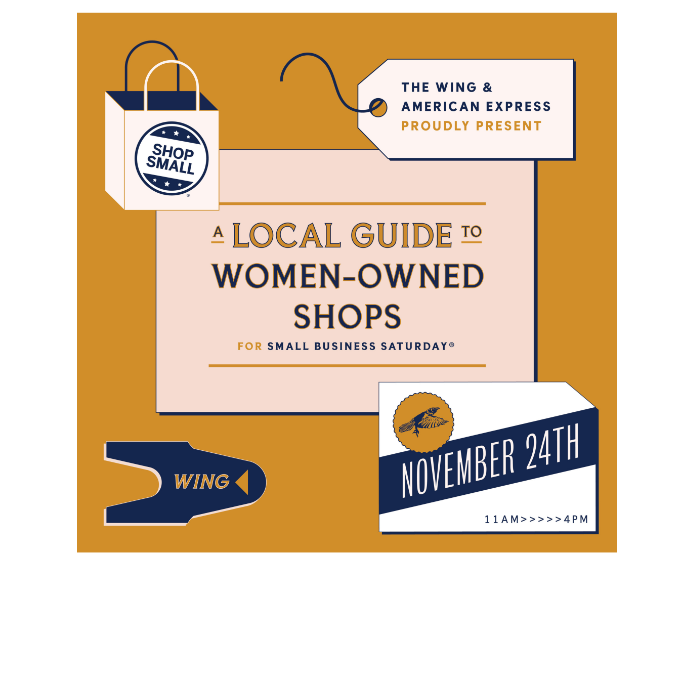 Small Business Saturday: The Wing x American Express