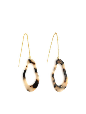Leona Threader Earrings - Kicheko Goods