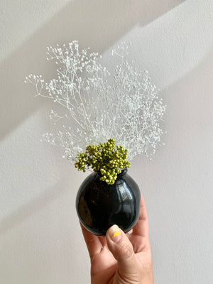 Revel Bud Vase + Dried Floral Bundle