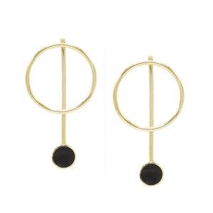 Solstice Jacket Earrings - Kicheko Goods