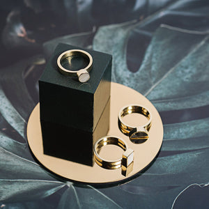 Elizabeta Stack Ring - Kicheko Goods