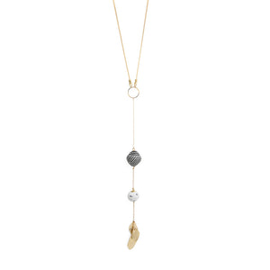Tribal Botanical Lariat - Kicheko Goods