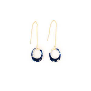 Akara threader earrings