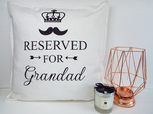 Reserved For Dad/Grandad
