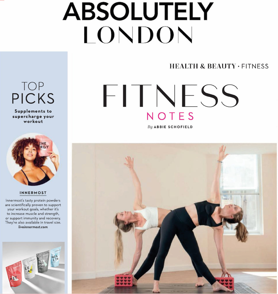 The Energy Booster by Innermost in Absolutely London Magazine