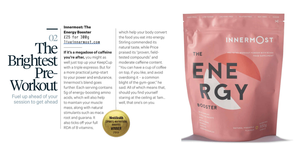 Men's Health Best Pre-Workout - The Energy Booster by Innermost