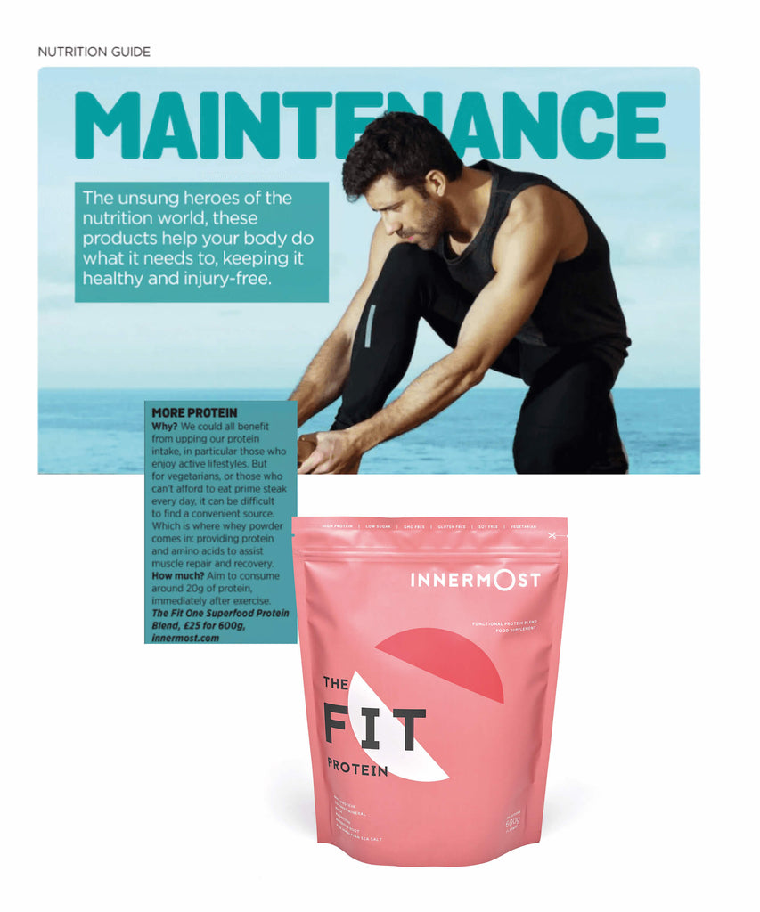 Men's Running on The Fit Protein by Innermost
