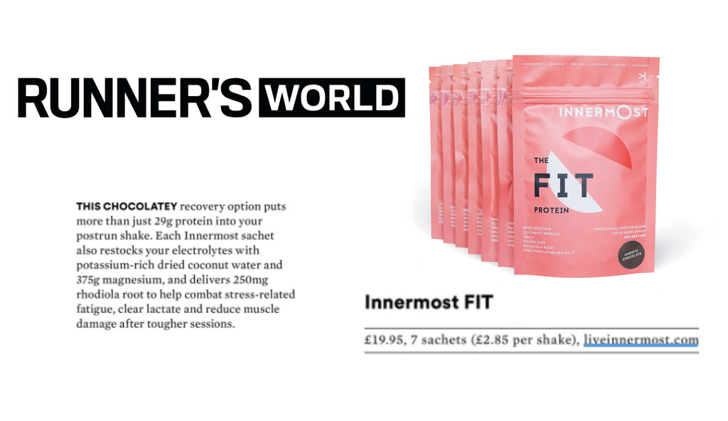 Runner's World on The Fit Protein by Innermost