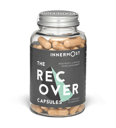 The Recover Capsules - nootropic nutrition supplements by Innermost
