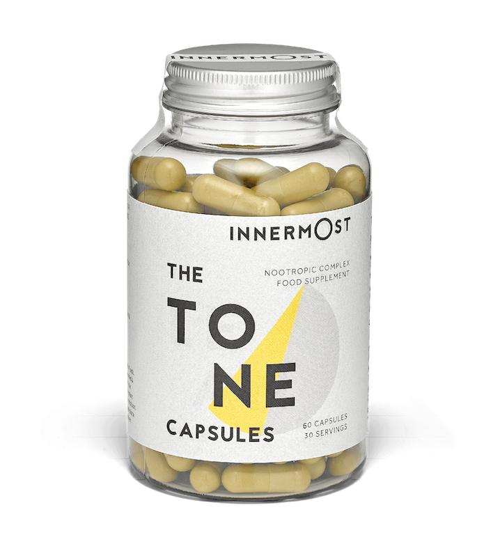 The Tone Capsules - nootropic supplements for tone and definition, by Innermost