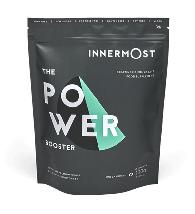 The Power Booster - a nutritional supplement developed by Innermost