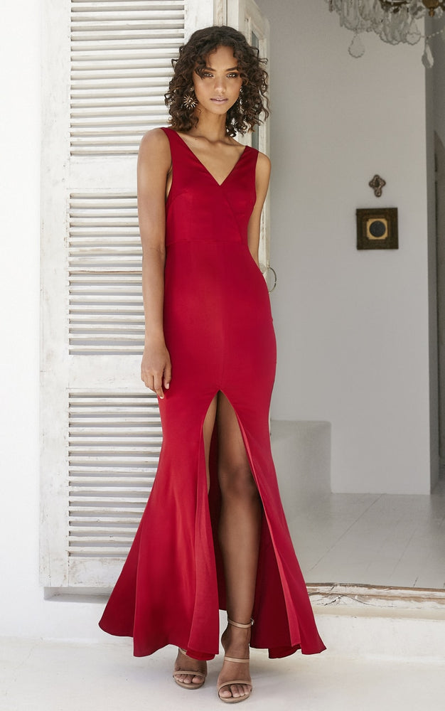 Thira Dress Red - Miss Holly Formal & Prom Dresses
