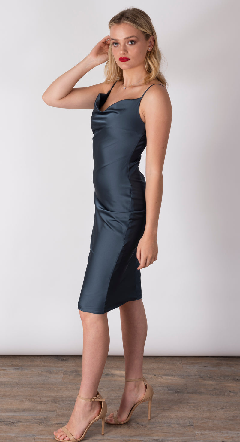 Formal slip dress