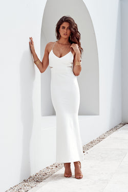 Brisk Dress White - Miss Holly Formal & Prom Dresses