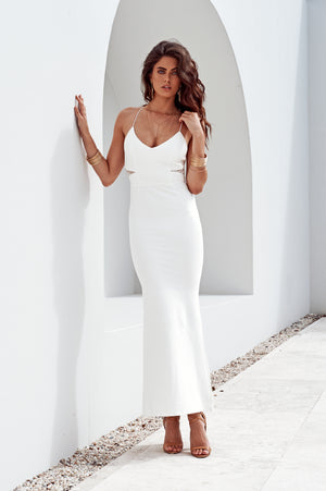 Brisk Dress White - PRE ORDER FOR NOVEMBER!