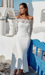 Diana Dress White