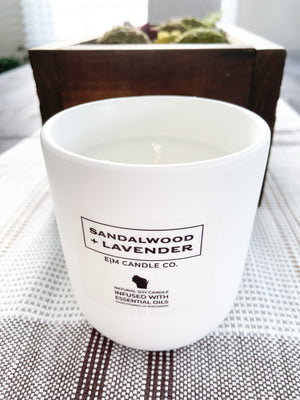 White Collection: Sandalwood + Lavender