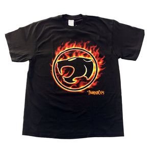 ThunderCats Flame Insignia T-shirt - Mean-Tees.com