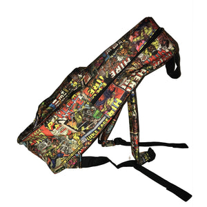 Luke Cage Sublimated Backpack - Mean-Tees.com