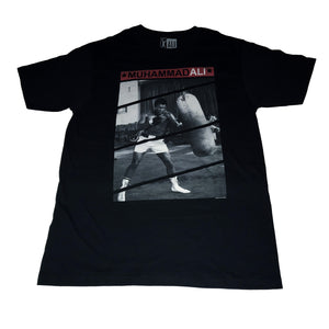 Muhammad Ali Heavy Bag T-shirt - Mean-Tees.com